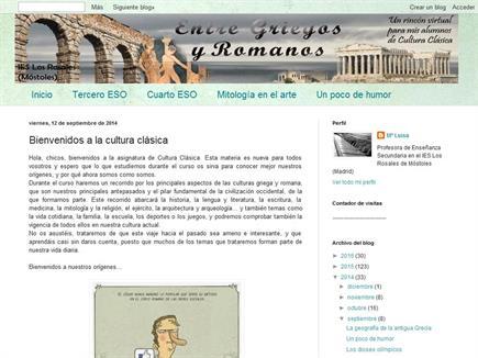 Entre griegos y romanos