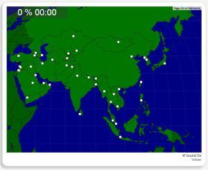 Ásia: Capitais. Seterra