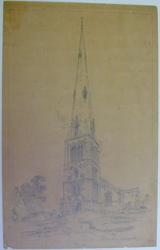 Iglesia de St. Peters en Raunds, Northamptonshire (Inglaterra)