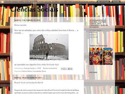 Ciencias Sociais: Apuntamentos de Historia, Cultura Clásica, Arte, Cidadanía e algo de Xeografía