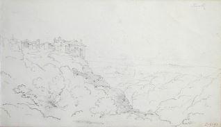 Vista de Tivoli (Italia)