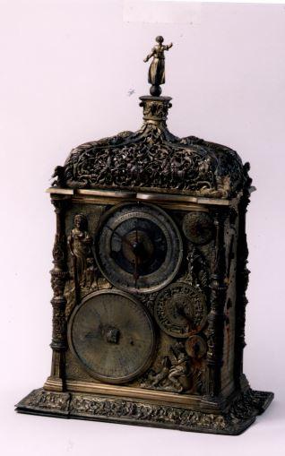 Reloj astronómico copia de un original de Jeremias Metzger