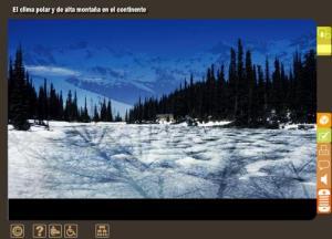 El clima polar y de alta montaña en el Continente