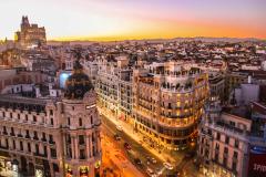 Un paseo por la ciudad de Madrid