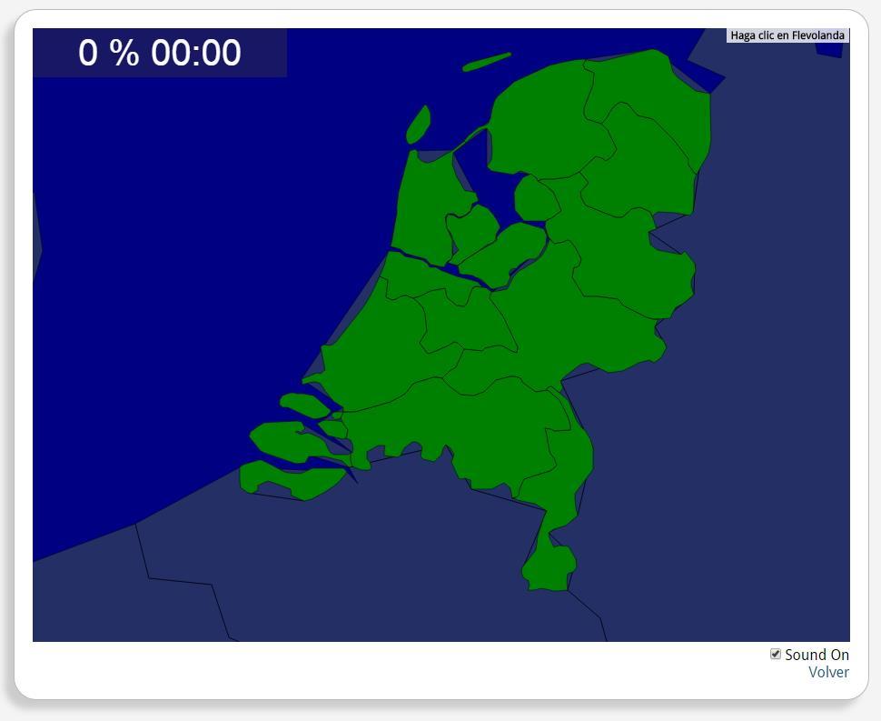 The Netherlands: Provinces. Seterra