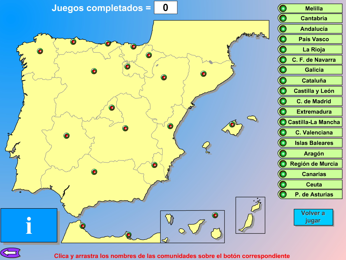 Comunidades Autónomas de España. Genmagic