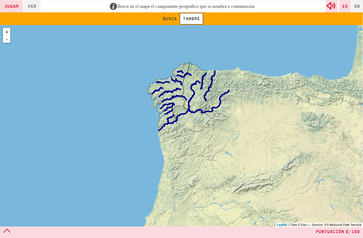 Die Flüsse in Galicien