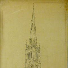 Iglesia de St. Mary en Rushden, Northamptonshire (Inglatera)