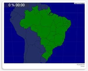 Brasil: Unidades federativas. Seterra