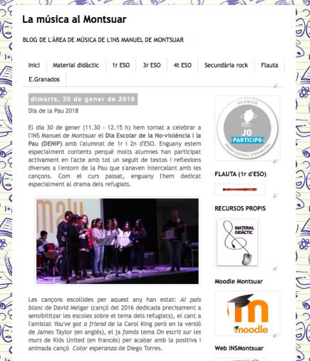 La música al Montsuar