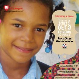 Equidad de genero: otra relación es posible (República Dominicana)