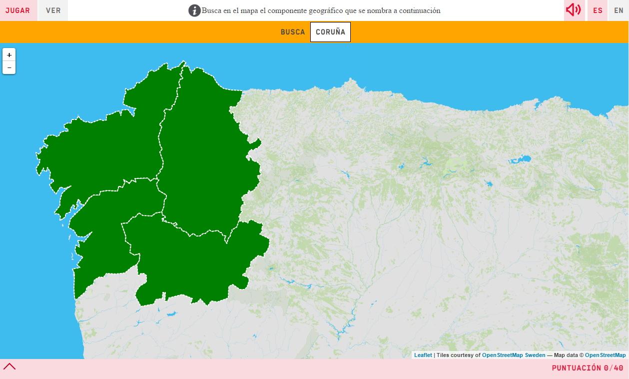 Province della Galizia
