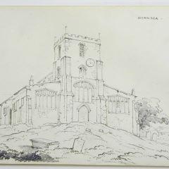 Iglesia de St Nicholas en Hornsea, Yorkshire (Inglaterra)