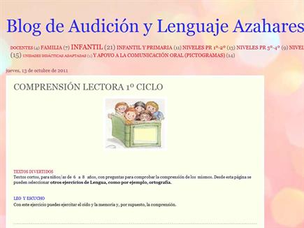 Blog de Audición y Lenguaje AzaharesRosa