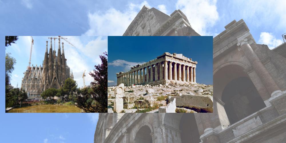 ¿Conoces algunas de las grandes obras de la historia?