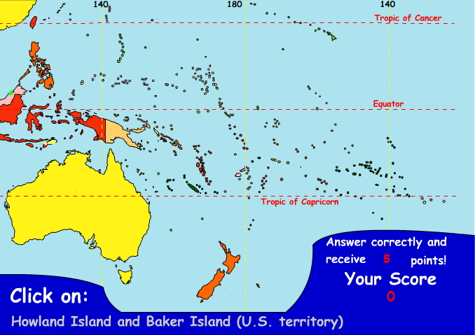 Countries of Oceania. Ilike2learn