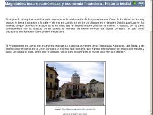 Magnitudes macroeconómicas y economía financiera: Elementos comunes de la unidad