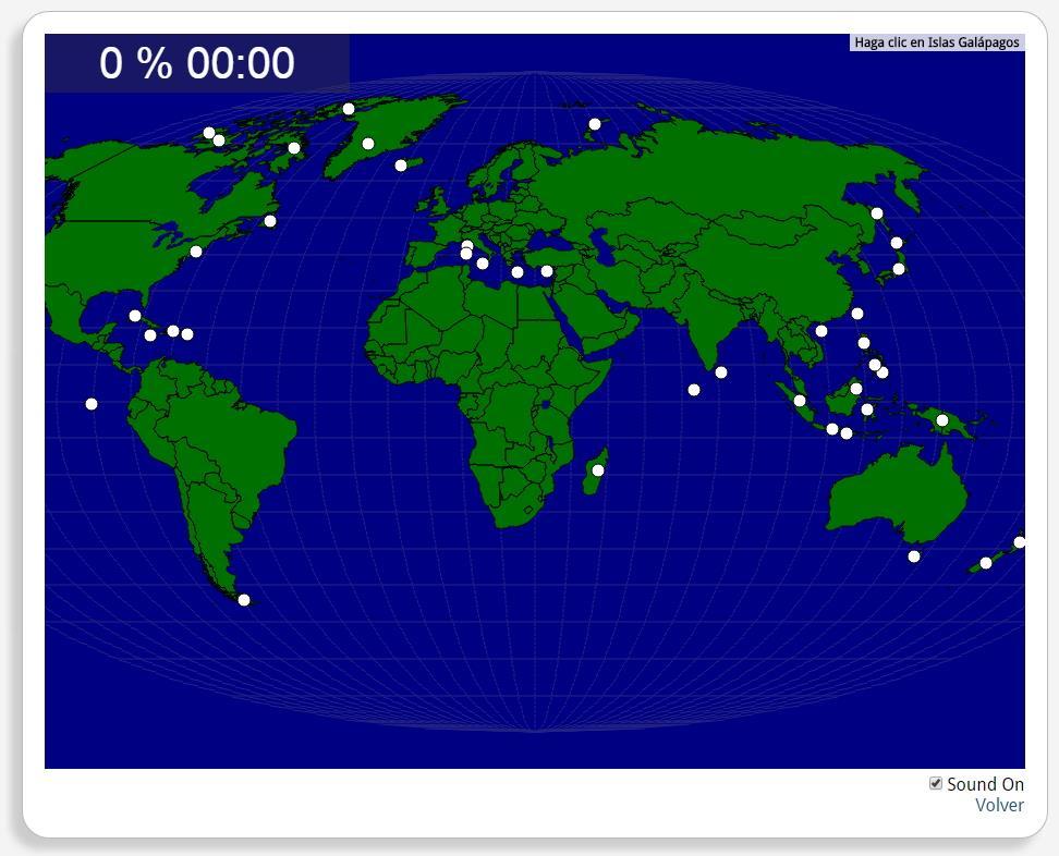 World: Islands. Seterra