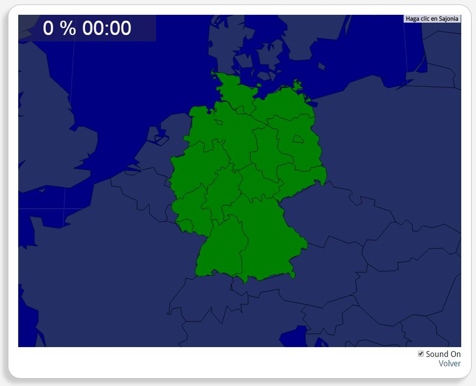 Deutschland: Bundesländer. Seterra