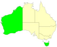 Australian states and territories (JetPunk)