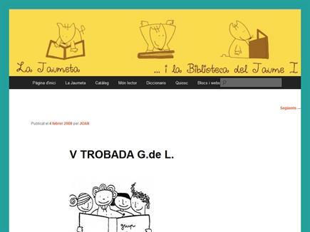 La Jaumeta    ...i la Biblioteca del Jaume I