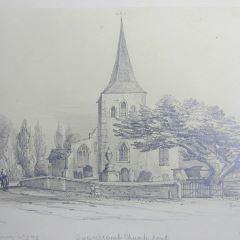 Iglesia de Swanscomb, Kent (Inglaterra)