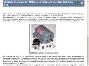 Principios de máquinas: Motores eléctricos de Corriente Continua (c.c.)