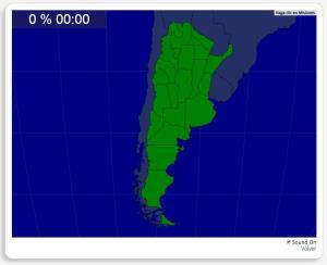 Argentinien: Provinzen. Seterra