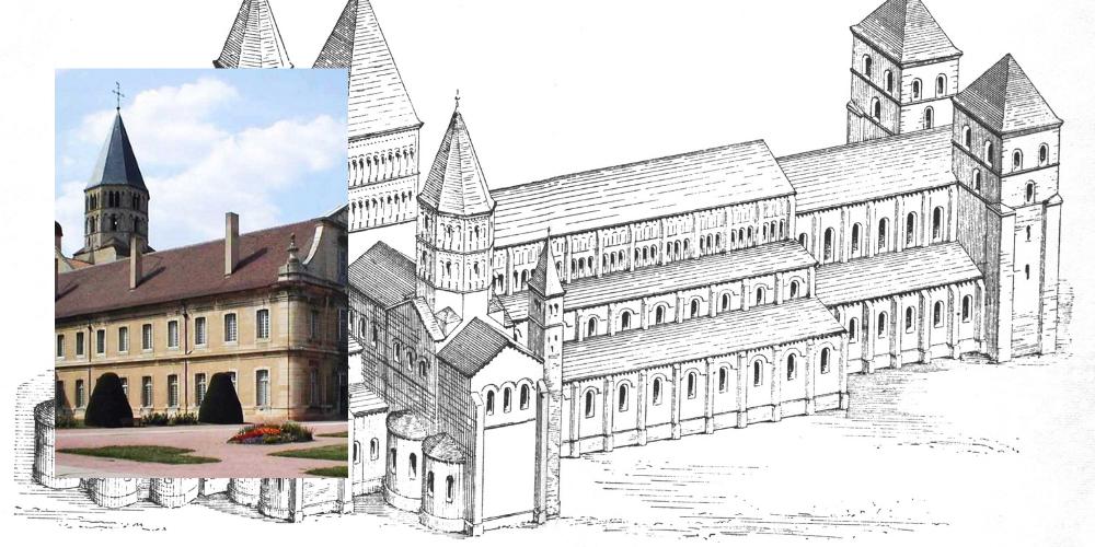 Cluny Abbey: Bühnen