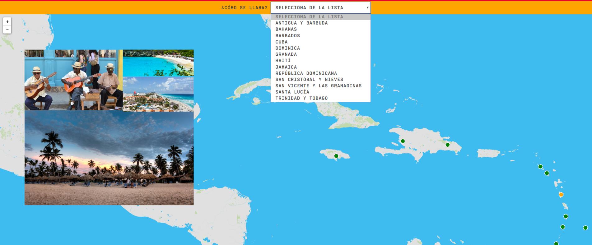 I Caraibi: paesi
