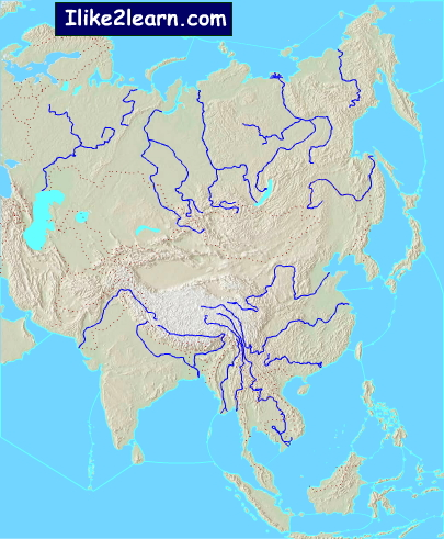 Map Of Asia Seas.Asian Seas Seas Of Asia Ilike2learn Mapas Interactivos De Didactalia