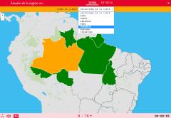 États de la région nord du Brésil