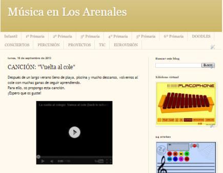Música en Los Arenales