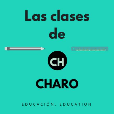 Las clases de Charo
