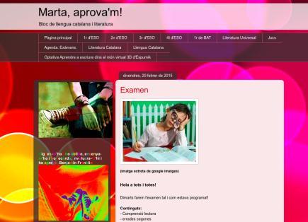 Marta, aprova'm!