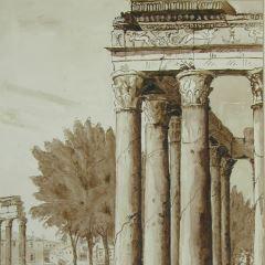 Templos de Antonino y Faustina en Roma