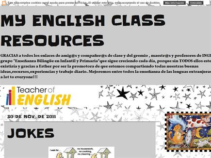my english class resources