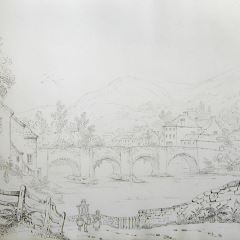Puente de Langollen (Gales)