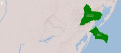 Départements de la région nord de l'Uruguay