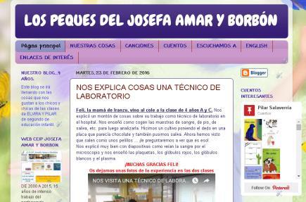 los peques del Josefa Amar y Borbón