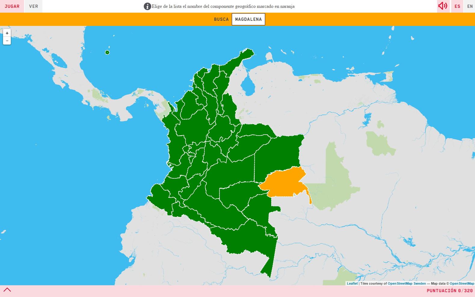 Kolumbianische Departamentos