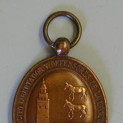 Medalla conmemorativa de la defensa de Bilbao durante la III Guerra Carlista