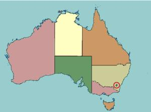 States and territories of Australia. Lizard Point
