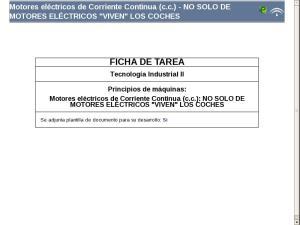 Motores eléctricos de Corriente Continua (c.c.) - NO SOLO DE MOTORES ELÉCTRICOS VIVEN LOS COCHES