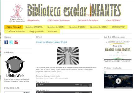 Bibloinfantes (Biblioteca Escolar Infantes)