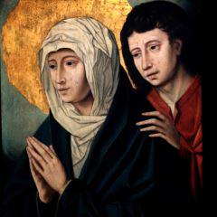 La Virgen y San Juan