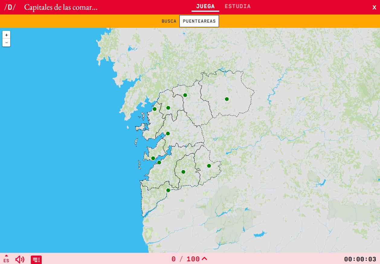 Capitale della regione di Pontevedra