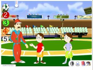 Reconocer las palabras de los deportes al verlas deletreadas
