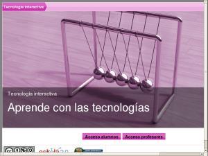 Tecnología interactiva - Aprende con las tecnologías