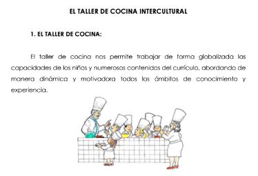 Interculturalidad a través de la cocina